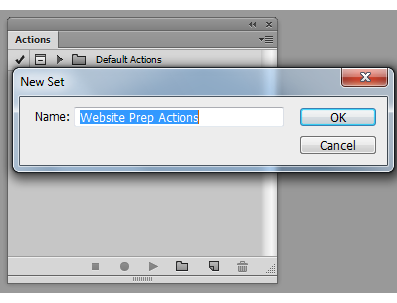 Quick ways to automate in Photoshop - Part 1: Creating an Action